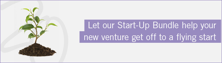 Let our start-up bundle help your new venture off to a flying start